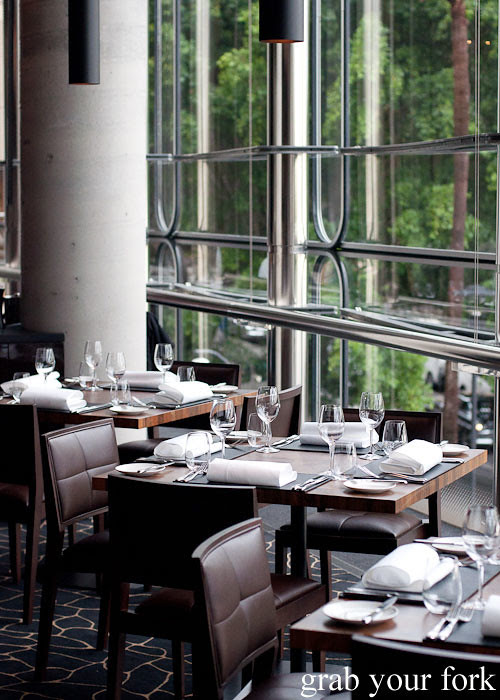 dining room at black by teage ezard