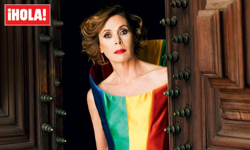 En ¡HOLA!, Ágatha Ruiz de la Prada recuerda su ruptura