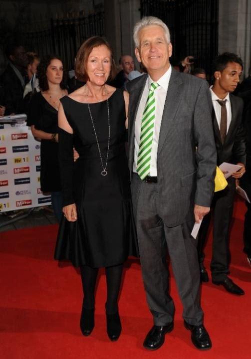 Nicholas Owen with his wife Brenda