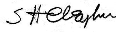 Sprague Cleghorn Autograph, Sprague Cleghorn Autograph