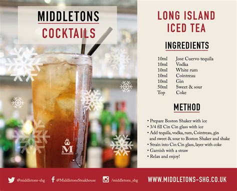 long island iced tea recipe middletons