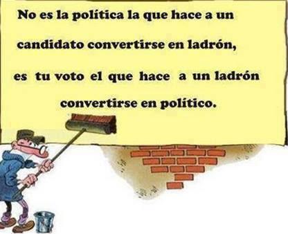 voto y corrupci�n