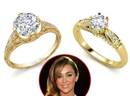 Miley Cyrus' Engagement Ring Can Be Yours?Kinda?for $3,000