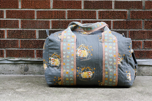 Travel Handmade: Duffel Bag! by jenib320
