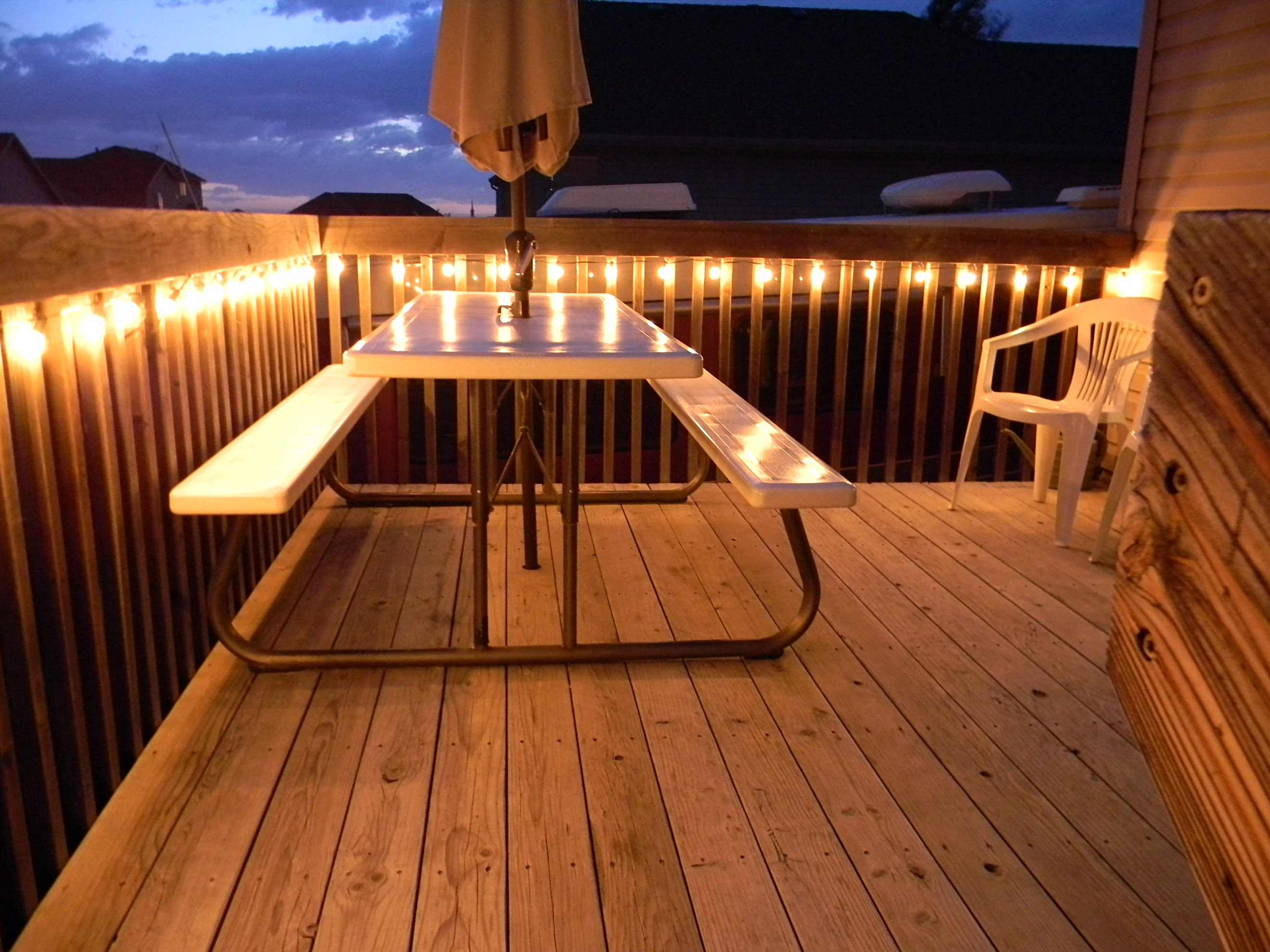 Light Up the Night - Deck Lighting Ideas - Michigan Decks
