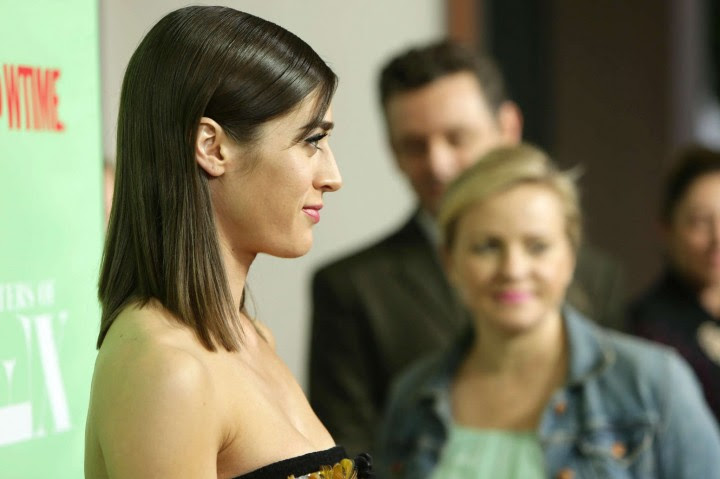Lizzy Caplan – An Evening with Masters of Sex -02