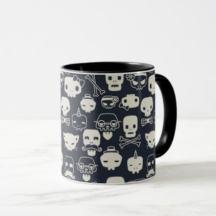 Personality Skull Pattern Mug