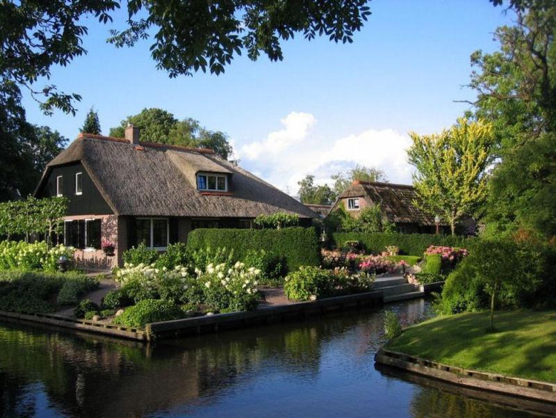 Giethoorn, a Veneza rural da Holanda 25