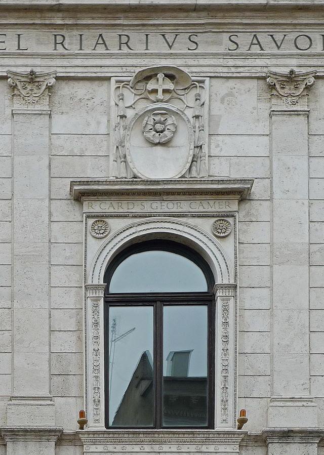 Andrea Bregno - Fensterädikulen.JPG