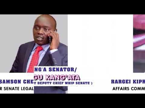 Murang'a Senator Irungu Kang'ata & Nandi County Samson Cherargei to address kenyans living In USA