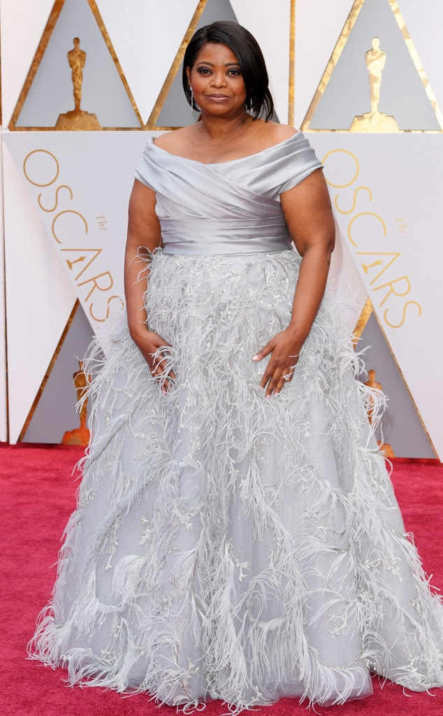 Oscars 2017 Red Carpet Arrivals Octavia Spencer, 2017 Oscars, Academy Awards, Arrivals