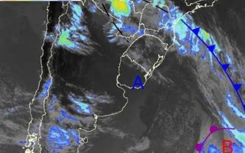 Depois dos temporais, hoje volta a chover na região
