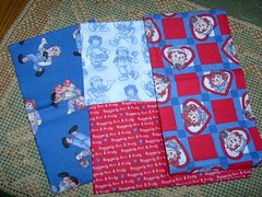 Raggedy Ann/Andy Fat Quarter Swap