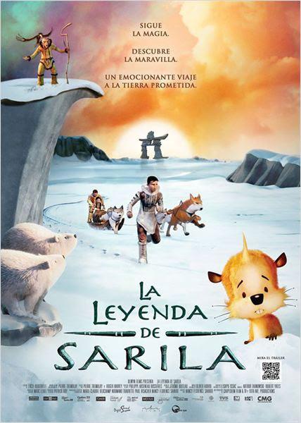 La leyenda de Sarila : Cartel