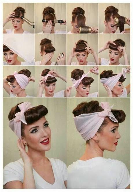 60er Jahre Frisur Mit Haarband Frisuren W