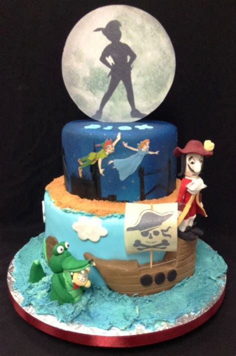 Peter pan cake   kids celebration cakes