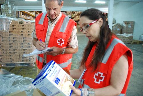 Gran labor la de Cruz Roja, tod@s podemos aportar nuestro granito de arena