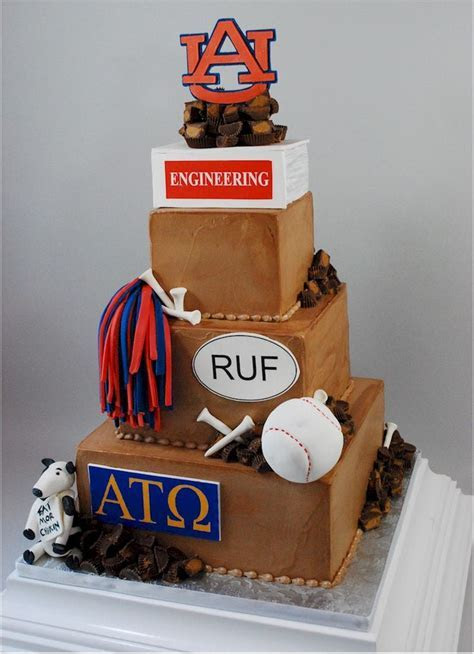 Best 25  Auburn cake ideas on Pinterest   Cupcakes denver