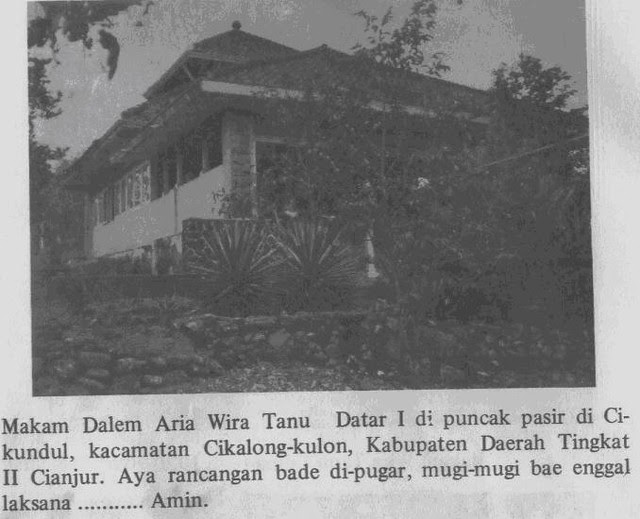 Makam Dalem Aria Wira Tanu Datar I