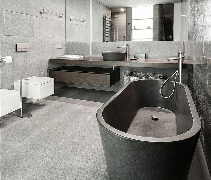 Appartement badkamer ontwerp met grote spiegel 1419720632 hasaba - Ontwerp entree spiegel ...