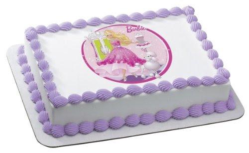 Who Loves Cake Barbie Birthday Cake