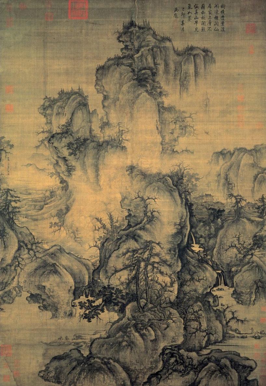 Guo Xi. Principios de la primavera, Ecoarte.