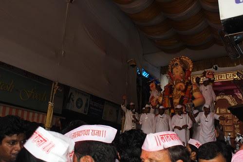 Lalbagh Chya Raja Visarjan 2012 by firoze shakir photographerno1