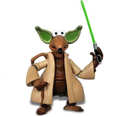 Disney Action Figure   Star Wars Weekends 2012 Rizzo Rat