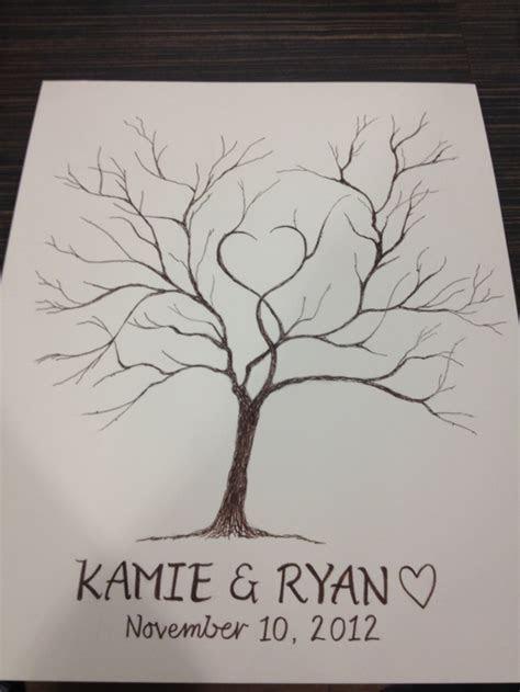 Best 25  Wedding fingerprint tree ideas on Pinterest