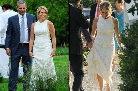 Katie Couric   Celebrity Wedding Dresses   StyleBistro