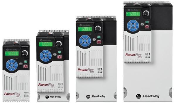 Nuevo variador de velocidad el PowerFlex 523 AC para fabricantes de máquinas