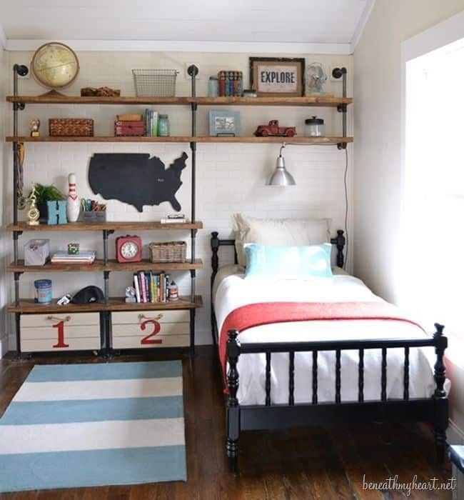53 Small Bedroom Ideas To Make Your Room Bigger -DesignBump