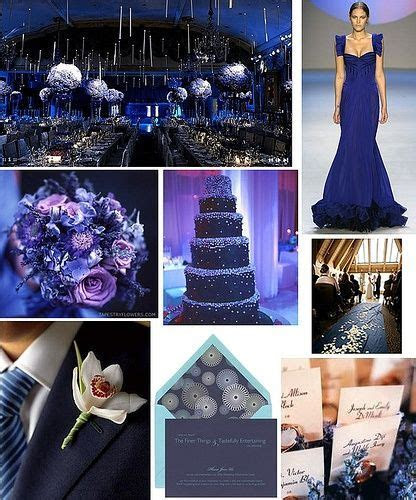 My wedding colours: navy/midnight blue and silver. (this