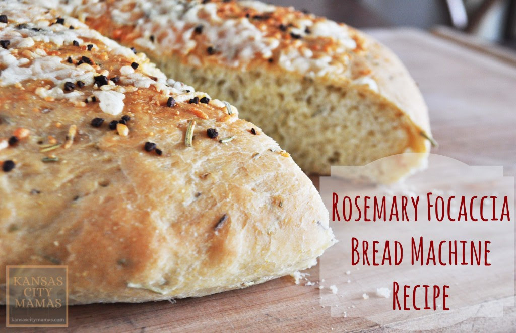 Rosemary Focaccia Bread Machine Recipe