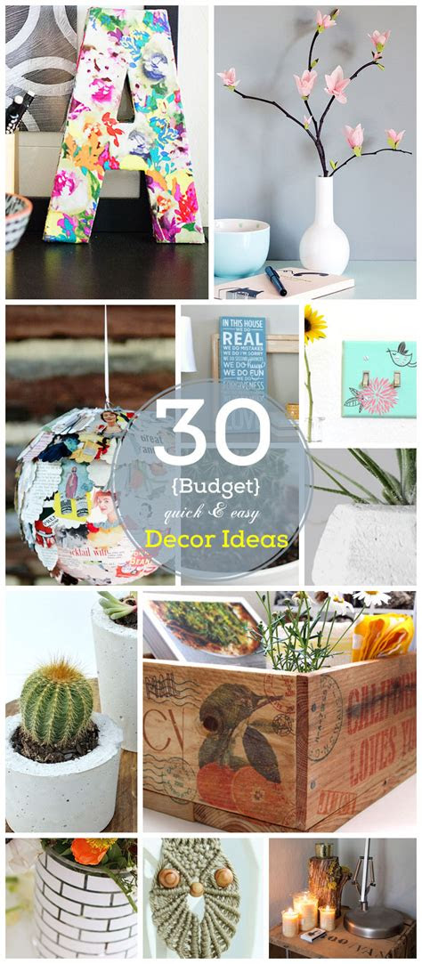 diy home decor ideas   budget coco