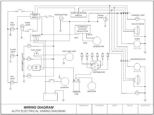 go look importantbook  electronics circuit drawing