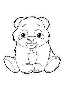 Coloriages Pandas à Imprimer Coloriages Animaux