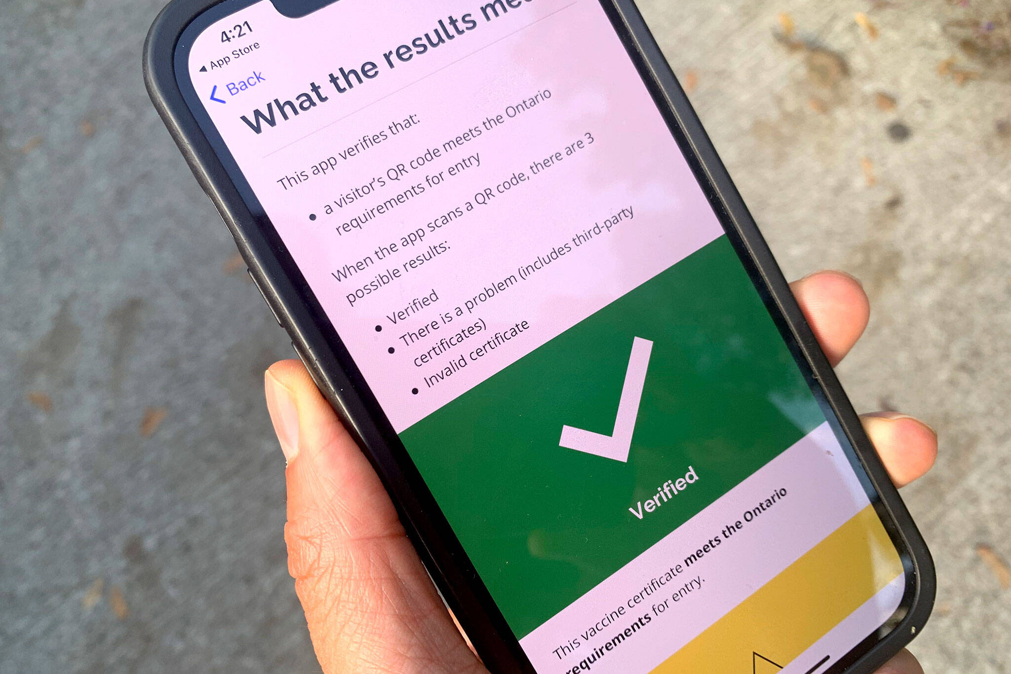 Ontario vaccine passport app launches early and people are finding it super confusing