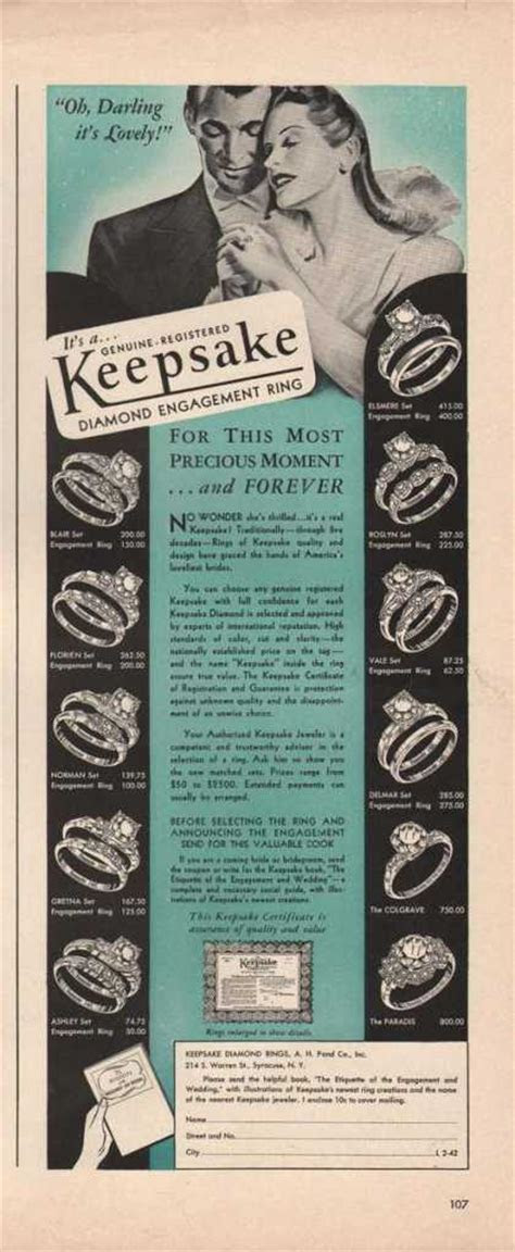 Vintage Jewelry and Watches Ads of the 1940s (Page 9)