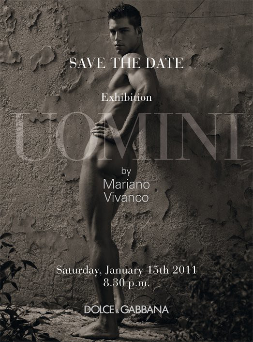UOMINI exhibition by Vivanco at Dolce&Gabbana, Milan