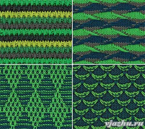 beautiful patterns with elongated loops