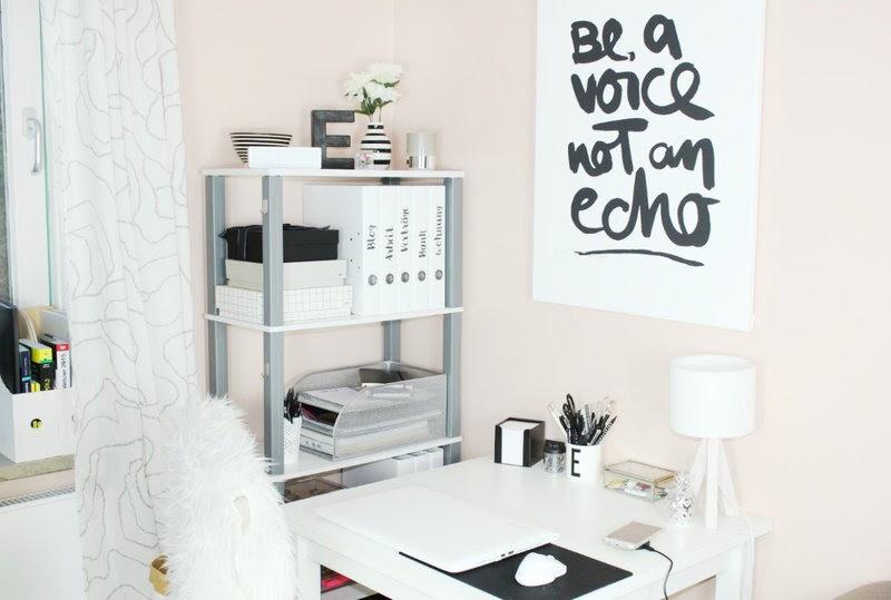 ordnung halten auf dem schreibtisch im b ro ella loves. Black Bedroom Furniture Sets. Home Design Ideas