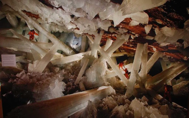 Image result for Cave of Crystals, Mexico