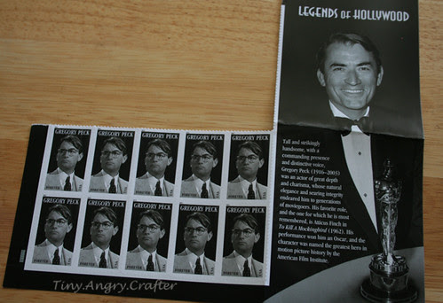 Gregory Peck Stamps