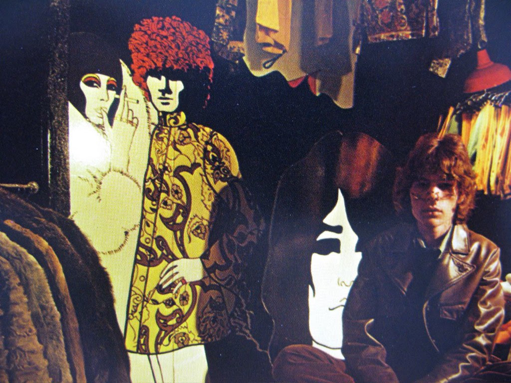 Copenhagen fashion store interior 1967