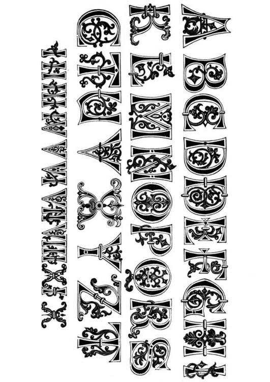Dibujo Para Colorear Letras Y Números Del Siglo Xi Img 11206