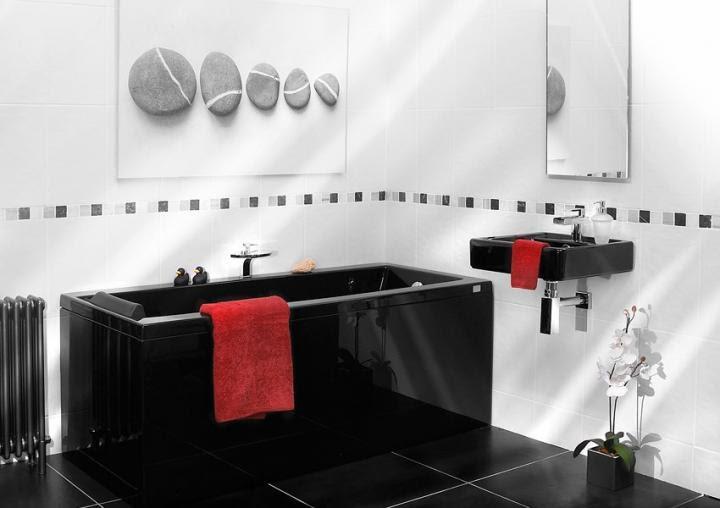 Uso del color negro en ambientes minimalistas