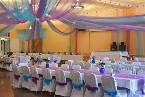 Wedding hall decorations   Staci K. Photography   Pinterest