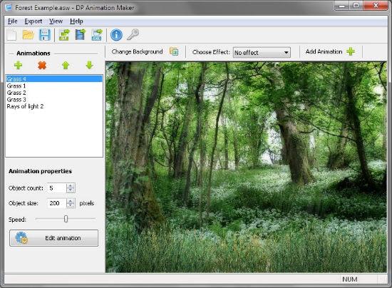 Creare animazioni, video e GIF partendo dalle immagini con DP Animation Maker