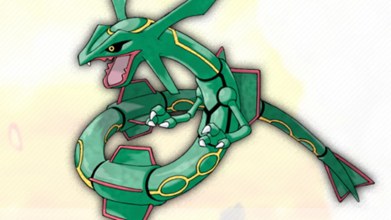 Rayquaza Confirmed for Pokemon Omega Ruby and Alpha